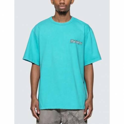 MISBHV Tシャツ & 【 MISBHV THE MBH HOTEL SPA TSHIRT TURQUOISE 】 メンズファッション トップス Tシャツ カットソー