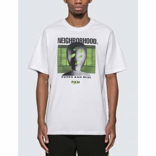 PERKS AND MINI Tシャツ 白 ホワイト P.A.M. 【 WHITE PERKS AND MINI X NEIGHBORHOOD PRINT TSHIRT 】 メンズファッション トップス Tシャツ カットソー