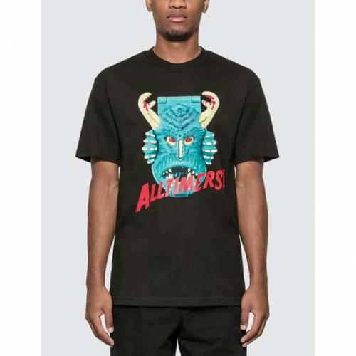 ALLTIMERS Tシャツ メンズファッション トップス カットソー メンズ 【 Mighty T-shirt 】 Black