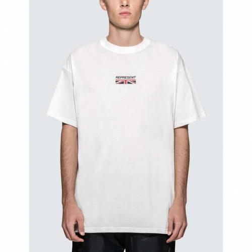 REPRESENT ロゴ 半袖 Tシャツ 白 ホワイト 【 WHITE REPRESENT LOGO S TSHIRT 】 メンズファッション トップス Tシャツ カットソー