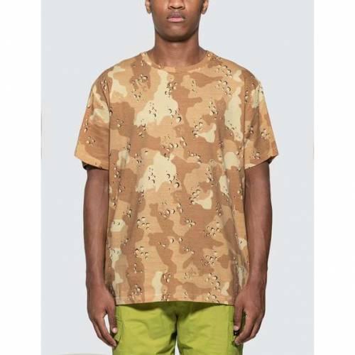 RIPNDIP Tシャツ メンズファッション トップス カットソー メンズ 【 Nerm Camo All Over T-shirt 】 Choc Chip Camo