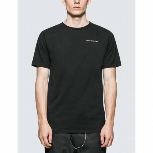 UNIFORM EXPERIMENT リバーシブル Tシャツ 黒 ブラック 【 BLACK UNIFORM EXPERIMENT REVERSIBLE TSHIRT 】 メンズファッション トップス Tシャツ カットソー