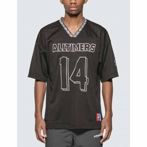 ALLTIMERS ワイルド ジャージ メンズファッション トップス Tシャツ カットソー メンズ 【 Wild Shit Jersey 】 Black