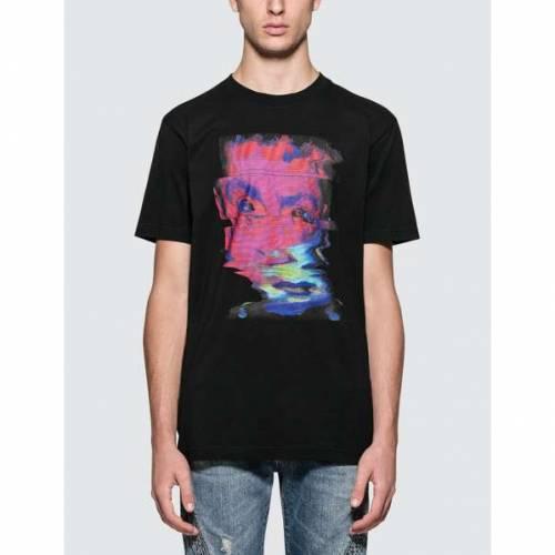MARCELO BURLON 半袖 Tシャツ メンズファッション トップス カットソー メンズ 【 Deformed Child S/s T-shirt 】 Black