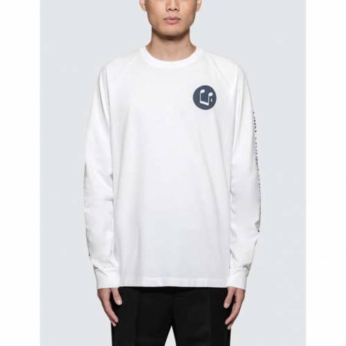 WOOD WOOD 長袖 ロングスリーブ Tシャツ メンズファッション トップス カットソー メンズ 【 Han L/s T-shirt 】 White