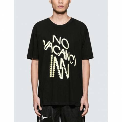 NO VACANCY INN ジャズ 半袖 Tシャツ 黒 ブラック 【 BLACK NO VACANCY INN JAZZ S TSHIRT 】 メンズファッション トップス Tシャツ カットソー