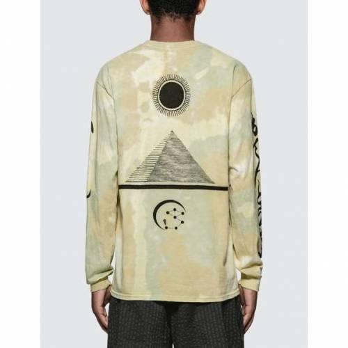 SASQUATCHFABRIX. 長袖 ロングスリーブ オリーブ SASQUATCHFABRIX. 【 OLIVE NANPOU L S TSHIRT001 LIGHT 】 メンズファッション トップス Tシャツ カットソー