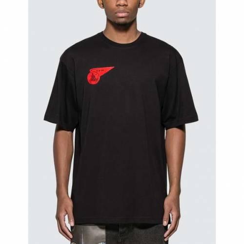 GEO Tシャツ 黒 ブラック 【 BLACK GEO AIRLINE TSHIRT 】 メンズファッション トップス Tシャツ カットソー