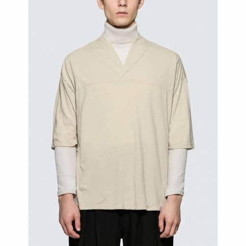 SASQUATCHFABRIX. Tシャツ SASQUATCHFABRIX. 【 BIG WANECK TSHIRT BEIGE 】 メンズファッション トップス Tシャツ カットソー