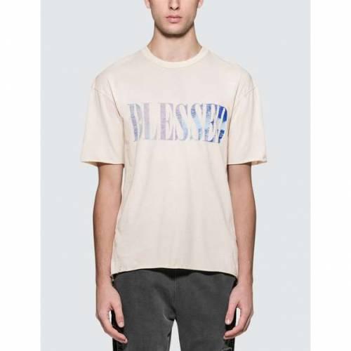 ALCHEMIST 半袖 Tシャツ 白 ホワイト 【 WHITE ALCHEMIST BLESSED S TSHIRT WHI 】 メンズファッション トップス Tシャツ カットソー