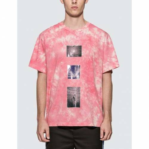 LOST DAZE Tシャツ ピンク 【 PINK LOST DAZE TRIPLE TIE DYE TSHIRT 】 メンズファッション トップス Tシャツ カットソー