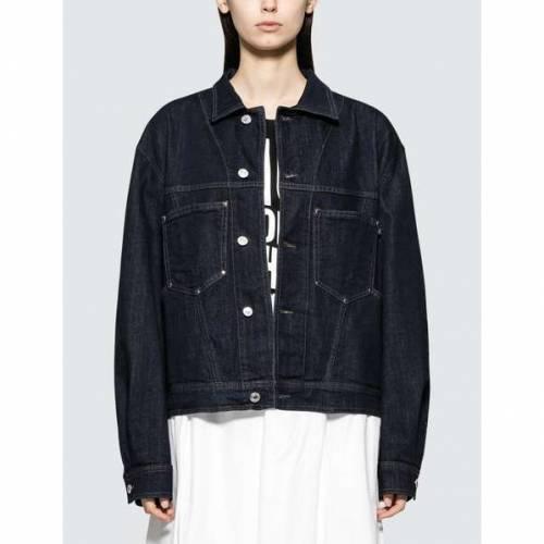 KATHARINE HAMNETT レディース 【 Coline Jacket 】 Indigo Blue