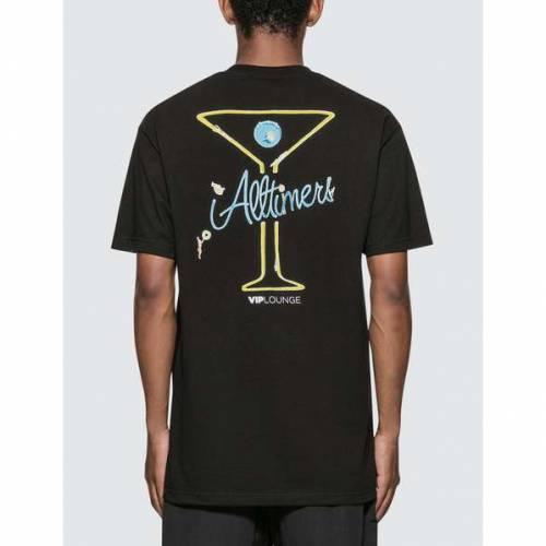 ALLTIMERS ゾーン Tシャツ 黒 ブラック 【 ZONE BLACK ALLTIMERS SPLASH TSHIRT 】 メンズファッション トップス Tシャツ カットソー