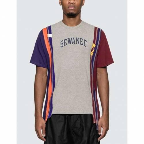 NEEDLES カレッジ Tシャツ メンズファッション トップス カットソー メンズ 【 7 Cuts College T-shirt 】 =e38