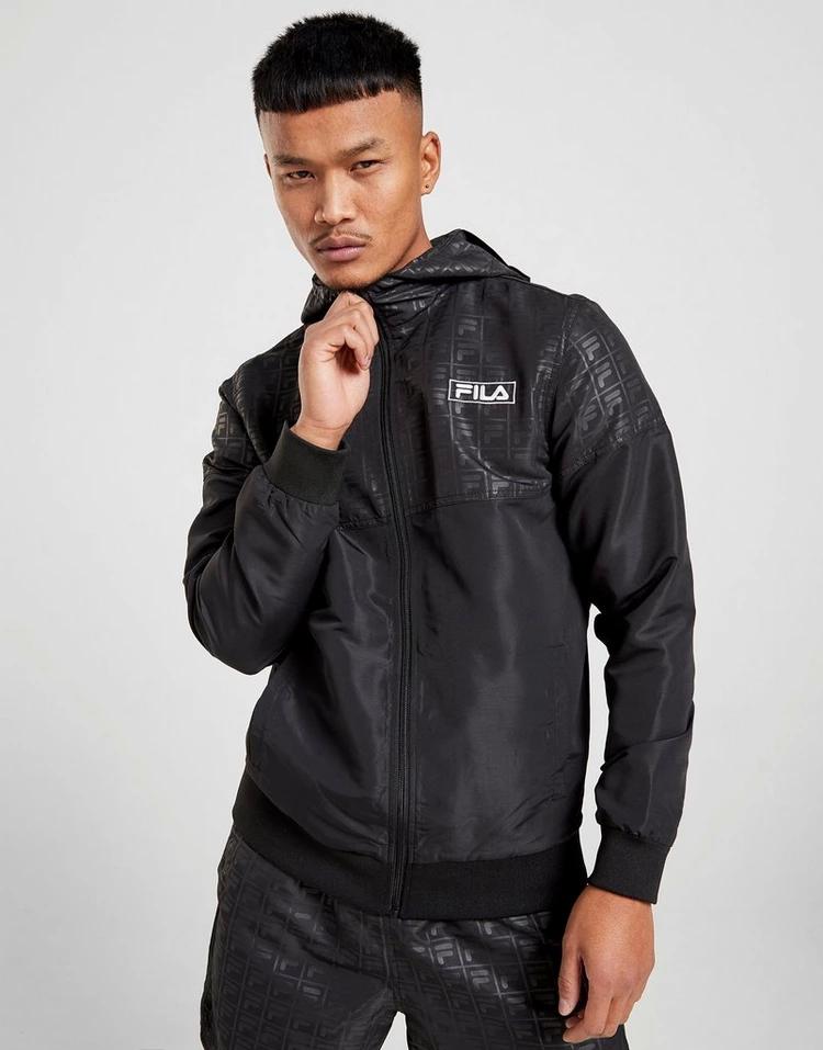 フィラ FILA フィラ ボックス ロゴ 黒 ブラック 【 BLACK FILA BILBO BOX LOGO LIGHT JACKET 】 メンズファッション コート ジャケット