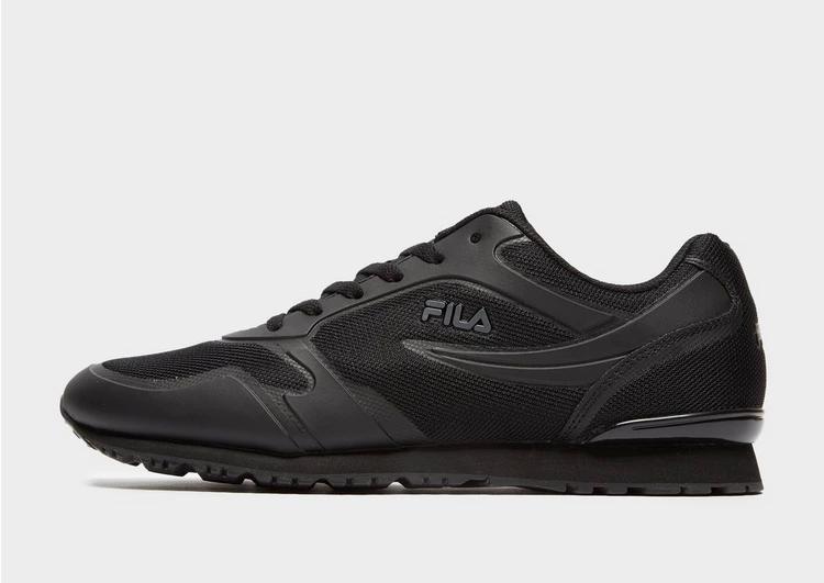 フィラ FILA フィラ 黒 ブラック 【 BLACK FILA FORERUNNER 18 】 メンズファッション トップス スウェット トレーナー