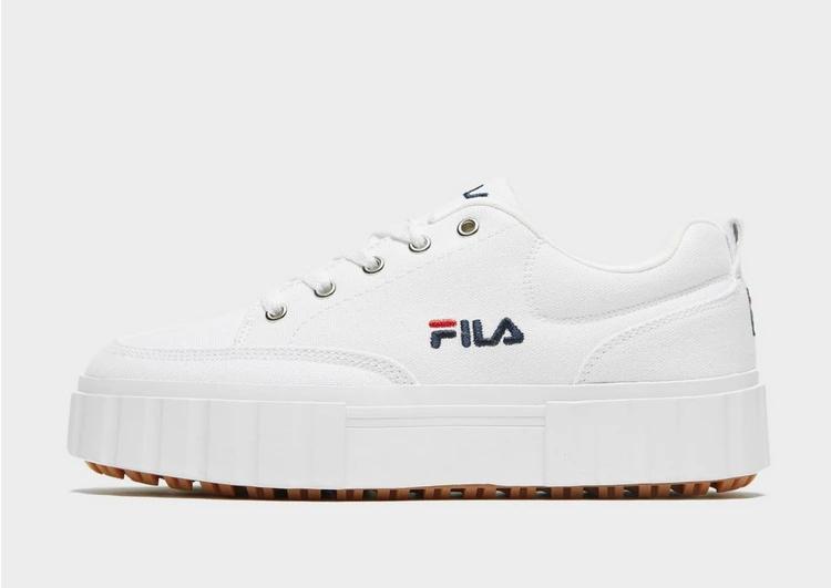 フィラ FILA フィラ 白 ホワイト 【 WHITE FILA SANDBLAST 】 レディースファッション トップス スウェット トレーナー