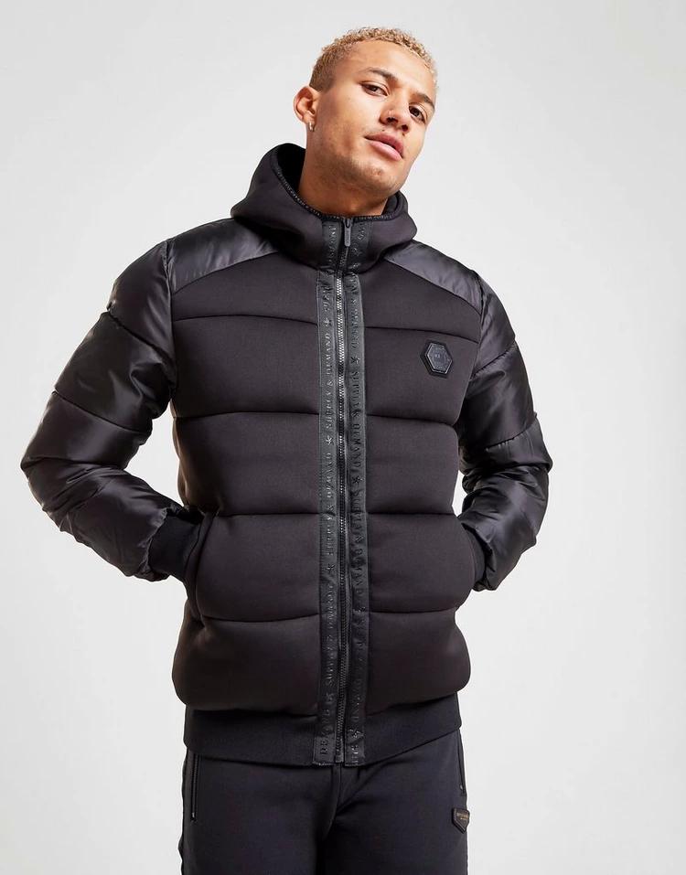 SUPPLY & DEMAND サプライ イグナイト バブル 黒 ブラック & 【 SUPPLY BLACK DEMAND IGNITE BUBBLE JACKET 】 メンズファッション コート ジャケット
