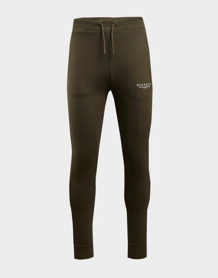 MCKENZIE トラック 緑 グリーン 【 GREEN MCKENZIE ESSENTIAL CUFFED TRACK PANTS 】 メンズファッション ズボン パンツ
