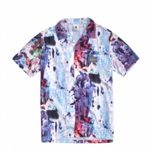 DAILY PAPER メンズファッション トップス Tシャツ カットソー メンズ 【 Hajo Shirt 】 Spacy Cave