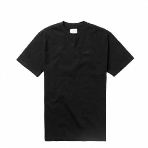 AIM・・ LEON DORE 半袖 Tシャツ ロゴ メンズファッション トップス カットソー メンズ 【 S/s Logo Tee 】 Black