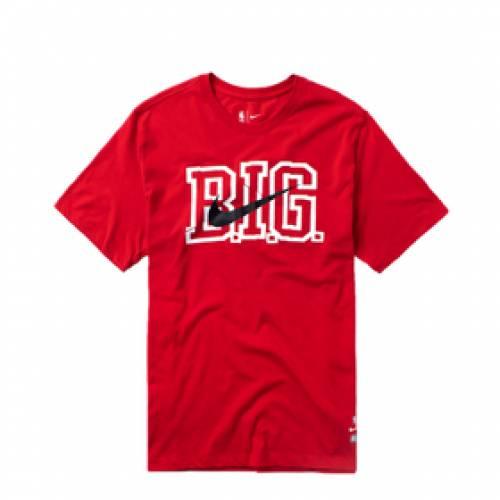 ナイキ NIKE ドライフィット Tシャツ ブルックリン ネッツ 赤 レッド 【 DRIFIT RED NIKE NBA TSHIRT BROOKLYN NETS UNIVERSITY 】 メンズファッション トップス Tシャツ カットソー