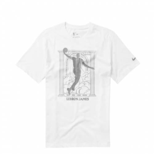 ナイキ NIKE レブロン ジェームズ レイカーズ ドライフィット 白 ホワイト 【 LAKERS DRIFIT WHITE NIKE LEBRON JAMES MVP NBATSHIRT 】 メンズファッション トップス Tシャツ カットソー