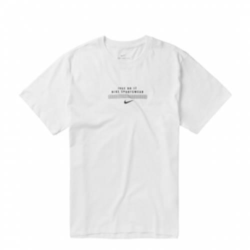 ナイキ NIKE Tシャツ 白 ホワイト 黒 ブラック 【 WHITE BLACK NIKE TSHIRT 】 メンズファッション トップス Tシャツ カットソー