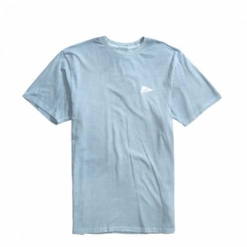 バンズ VANS バンズ Tシャツ 青 ブルー 【 VANS BLUE X PILGRIM SURF TEE FOG 】 メンズファッション トップス Tシャツ カットソー