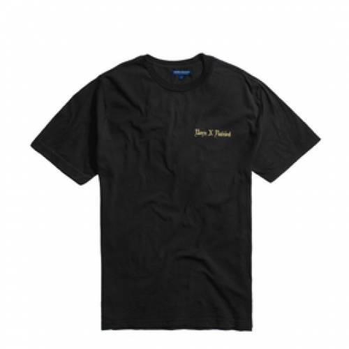 BORN X RAISED Tシャツ 黒 ブラック 【 BLACK BORN X RAISED FUCK SCHOOL TEE 】 メンズファッション トップス Tシャツ カットソー