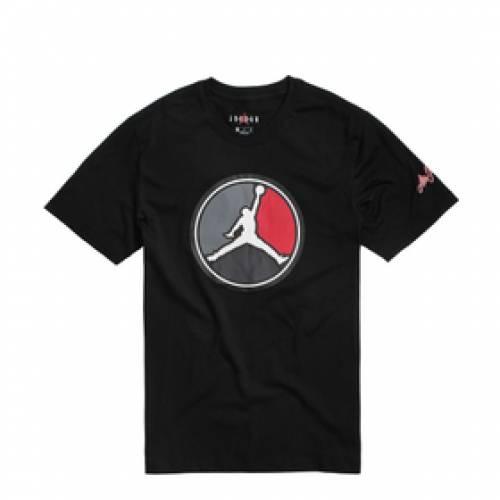 ナイキ ジョーダン JORDAN Tシャツ 黒 ブラック 赤 レッド 【 BLACK RED JORDAN REMASTERED TEE GYM 】 メンズファッション トップス Tシャツ カットソー