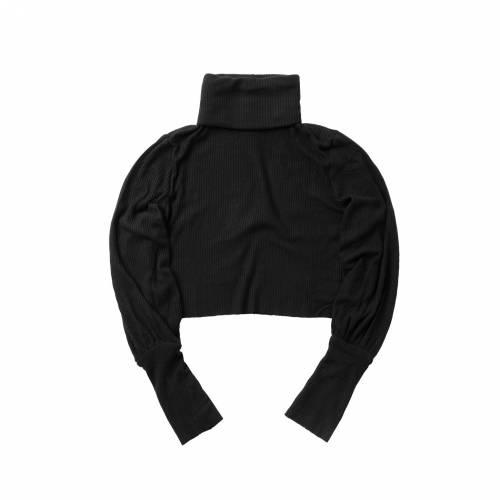 ファッションブランド カジュアル ファッション JOAH BROWN 茶色 ブラウン ブルックリン 黒色 トップス ブラック レディースファッション 数量限定 完全送料無料 BROOKLYN TURTLENECK BLACK