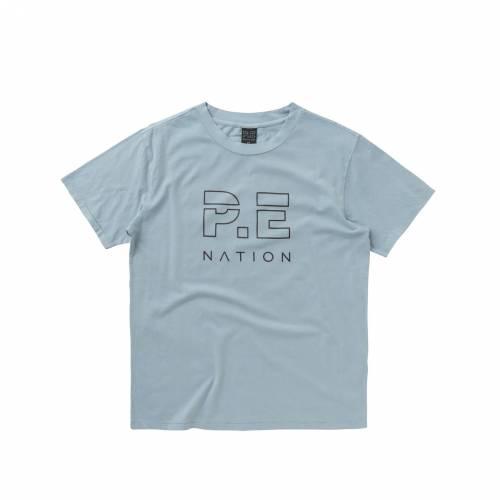 ファッションブランド カジュアル ファッション P.E. NATION Tシャツ HEADS レディースファッション ANGEL FALLS UP ブランド品 売却 トップス TEE