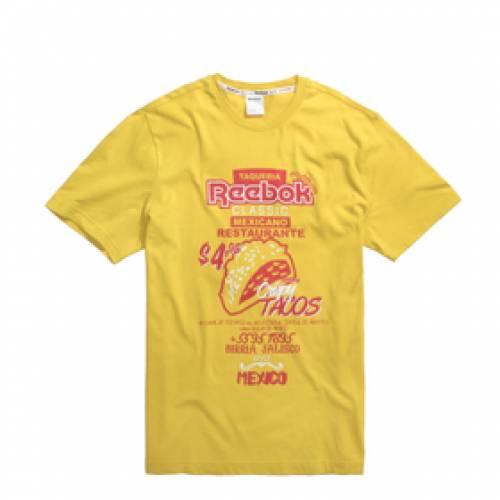 リーボック REEBOK リーボック クラシック Tシャツ 【 REEBOK CLASSIC ITL TACOS TEE URBYEL 】 メンズファッション トップス Tシャツ カットソー