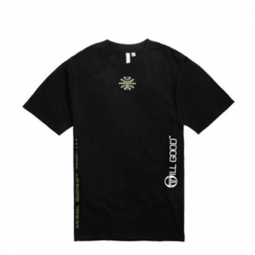 STILL GOOD ロゴ Tシャツ 黒 ブラック 【 BLACK STILL GOOD GALAXY LOGO TEE 】 メンズファッション トップス Tシャツ カットソー