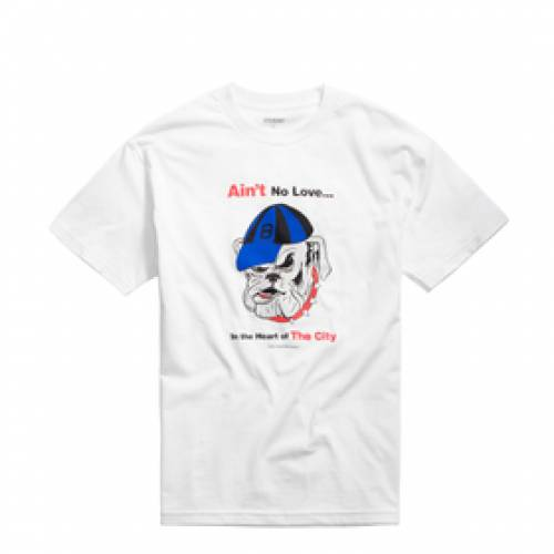 BUTTER GOODS Tシャツ Ain´t メンズファッション トップス カットソー メンズ 【 Ain´t No Love Tee 】 White