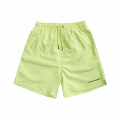 DAILY PAPER マジック 緑 グリーン 【 GREEN DAILY PAPER MAGIC SWIMSHORT SHARP 】 メンズファッション 水着