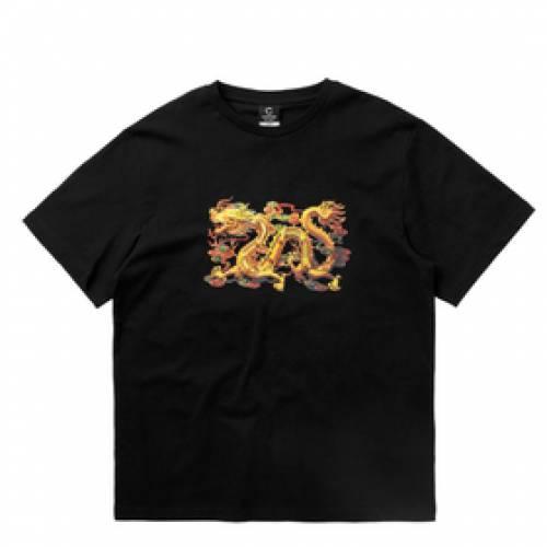 CLOTTEE ドラゴン Tシャツ 黒 ブラック 【 BLACK CLOTTEE DRAGON SS TEE 】 メンズファッション コート ジャケット