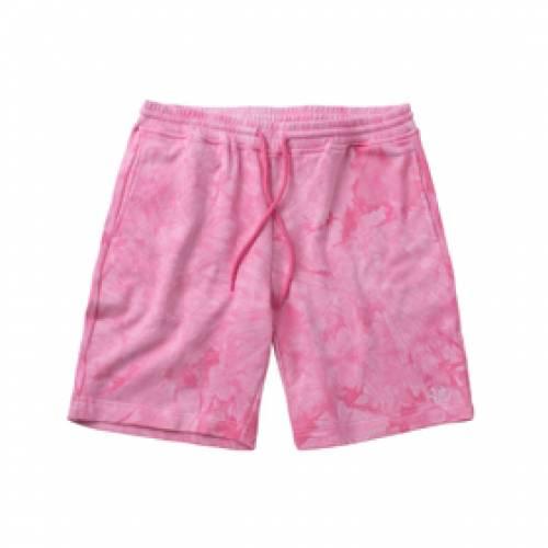 CLOTTEE スウェット ショーツ ハーフパンツ ピンク 【 SWEAT PINK CLOTTEE THE DYE SHORTS 】 メンズファッション コート ジャケット