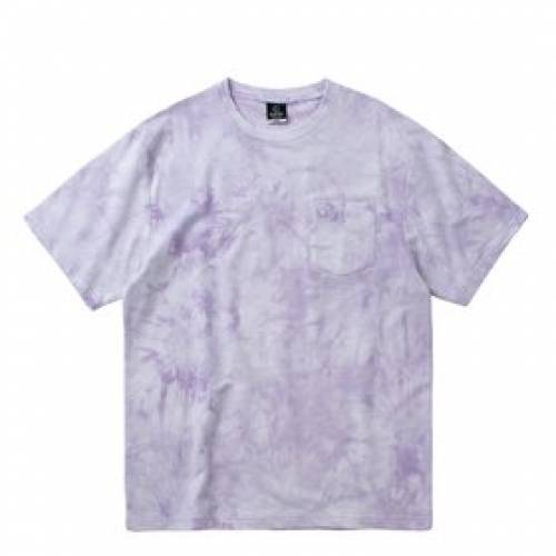 CLOTTEE Tシャツ 紫 パープル 【 PURPLE CLOTTEE POCKET TIE DYE SS TEE 】 メンズファッション コート ジャケット