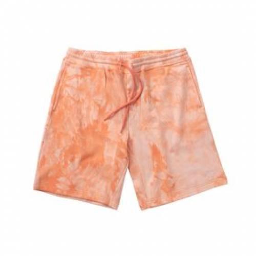 CLOTTEE スウェット ショーツ ハーフパンツ 橙 オレンジ 【 SWEAT ORANGE CLOTTEE THE DYE SHORTS 】 メンズファッション コート ジャケット