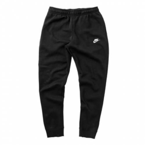 ナイキ NIKE フリース 黒 ブラック 白 ホワイト 【 BLACK WHITE NIKE FLEECE PANTS 】 メンズファッション コート ジャケット