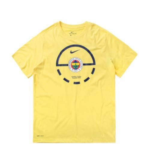 ナイキ NIKE Tシャツ 黄色 イエロー ストライク 【 YELLOW NIKE DRY TEE SS FENERBAHCE STRIKE 】 メンズファッション トップス Tシャツ カットソー