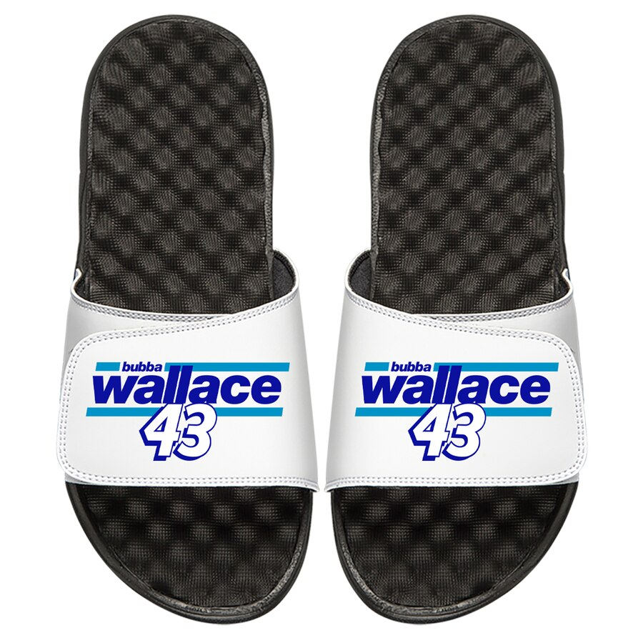 ISLIDE サンダル 白 ホワイト 【 SLIDE WHITE ISLIDE BUBBA WALLACE DRIVER BAR SANDALS 】 メンズ サンダル スポーツサンダル