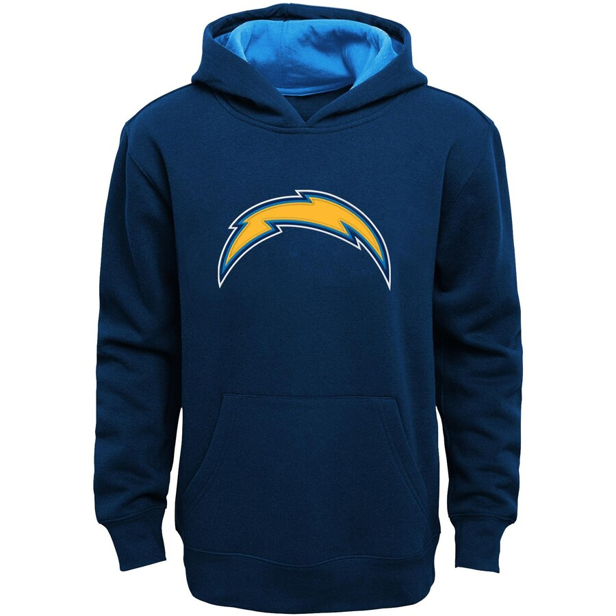 OUTERSTUFF チャージャーズ 子供用 ギア 紺 ネイビー キッズ ベビー マタニティ トップス ジュニア 【 Los Angeles Chargers Youth Fan Gear Prime Pullover Hoodie - Navy 】 Navy