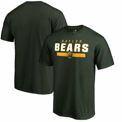 FANATICS BRANDED ベイラー ベアーズ チーム Tシャツ 緑 グリーン メンズファッション トップス カットソー メンズ 【 Baylor Bears Team Strong T-shirt - Green 】 Green