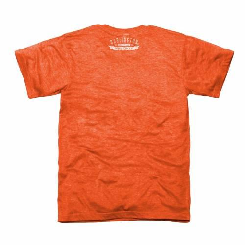 NASCAR CLASSICS Tシャツ 橙 オレンジ メンズファッション トップス カットソー メンズ 【 Darlington Raceway Original Tri-blend T-shirt - Orange 】 Orange