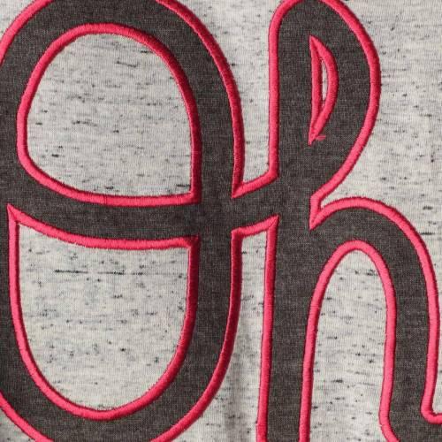 PROFILE VARSITY オハイオ スケートボード チーム Tシャツ 灰色 グレー グレイ メンズファッション トップス カットソー メンズ 【 Ohio State Buckeyes Big And Tall Team Player T-shirt - Heathered Gray 】 Heath