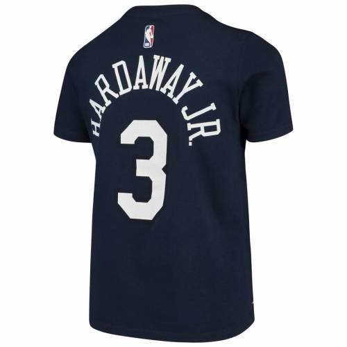 ナイキ NIKE ハーダウェイ ニックス 子供用 シティ Tシャツ 紺 ネイビー キッズ ベビー マタニティ トップス ジュニア 【 Tim Hardaway Jr New York Knicks Youth City Edition Name And Number T-shirt - Navy 】 N