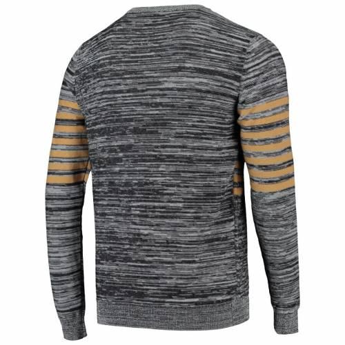 FOCO セインツ ニット ヘンリー スリーブ Tシャツ 灰色 グレー グレイ メンズファッション トップス カットソー メンズ 【 New Orleans Saints Marled Knit Henley Long Sleeve T-shirt - Gray 】 Gray
